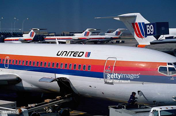 United Airplanes at Chicago O'Hare International Airport