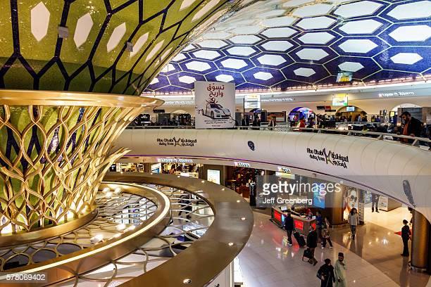 United Arab Emirates Abu Dhabi International Airport terminal shopping duty free