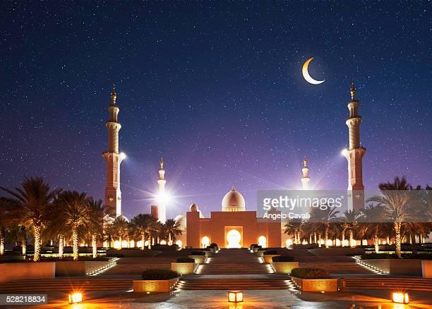 United Arab Emirates. Abu Dhabi. Sheikh Zayed Grand Mosque