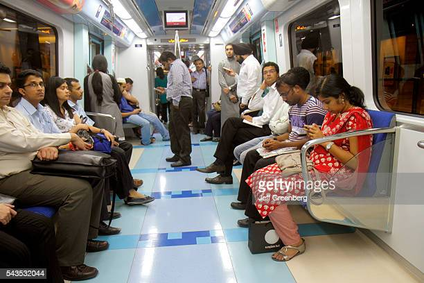 United Arab Emirates UAE UAE Middle East Dubai Deira Al Ghubaiba Metro Station Green Line subway public transportation passengers