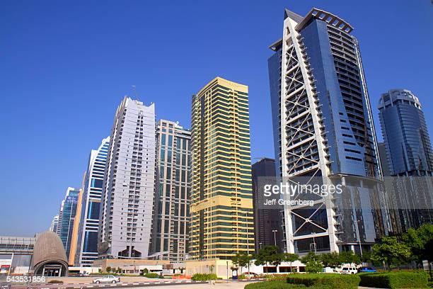 United Arab Emirates UAE UAE Middle East Dubai Jumeirah Lake Towers Indigo Tower Lake City Tower Global Lake View tall buildings