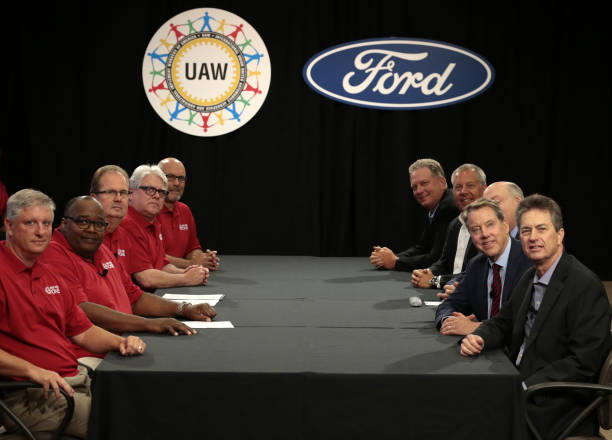 MI: Ford Motor Co. And The United Auto Workers Hold Labor Negotiations