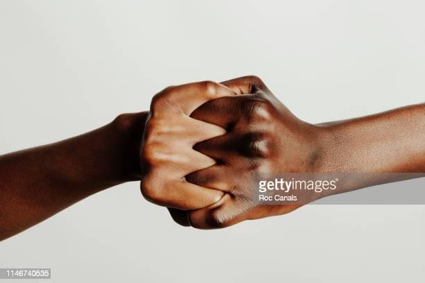 united blacks - solidaridad fotografías e imágenes de stock