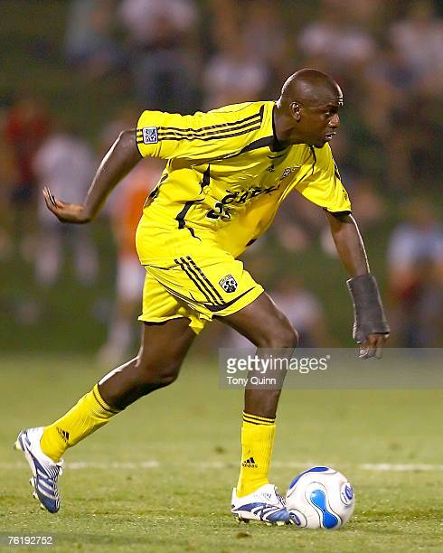 United defeated Columbus Crew 2-1 in overtime at the Maryland Soccerplex in front of a standing room only crowd on August 1 2006. Ezra Hendrickson...