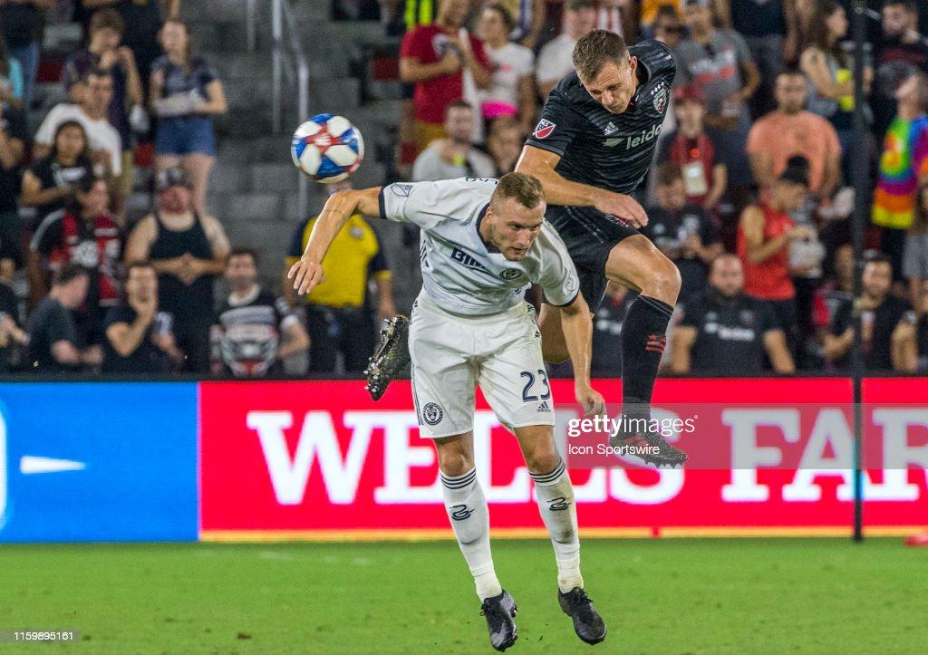 SOCCER: AUG 04 MLS - Philadelphia Union at DC United : News Photo