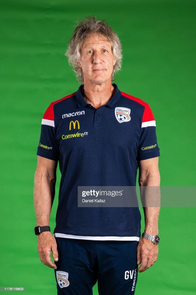 Adelaide United 2019/20 A-League Headshots Session : News Photo