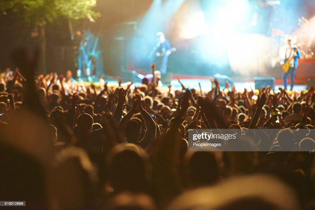 United in their love for music : Stock Photo