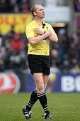 united kingdom referee wayne barnes during