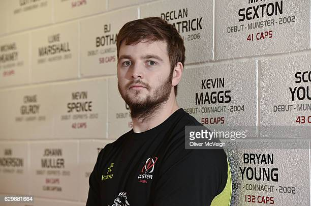 BEL United Kingdom 14 December 2016 Iain Henderson of Ulster after the Ulster Rugby Press Conference at the Kingspan Stadium Belfast