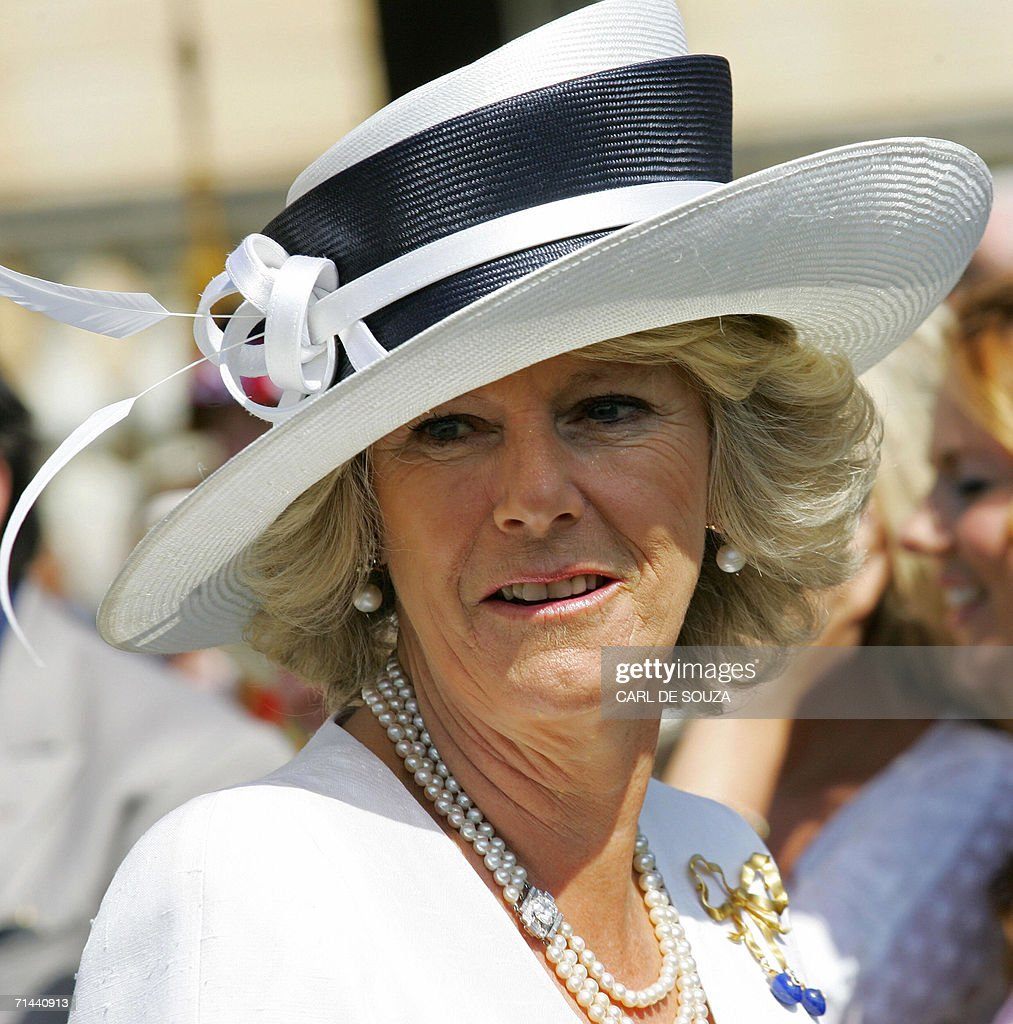 Camilla, Duchess of Cornwall is pictured : News Photo