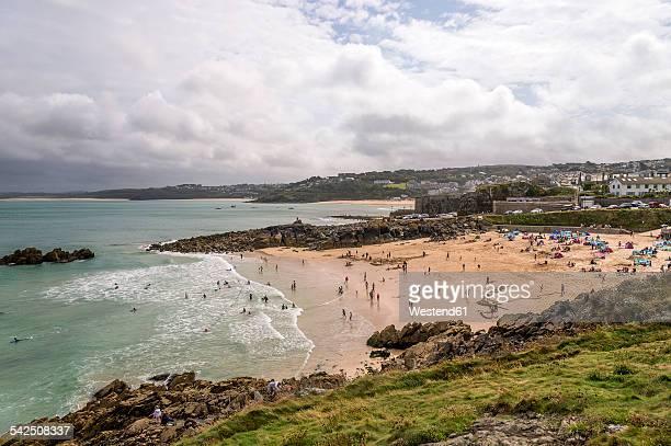 United Kingdom, England, Cornwall, St Ives, Porthgwidden Beach