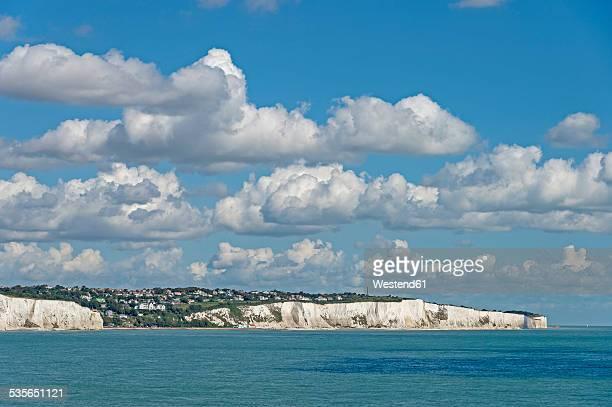 United Kingdom, England, Kent, Dover, English Channel, Chalk Coast, White Cliffs