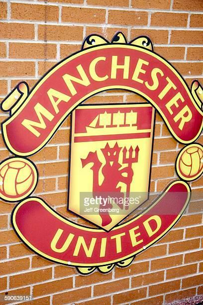 United Kingdom England Lancashire Manchester Manchester United Football Club Old Trafford Stadium Team Logo