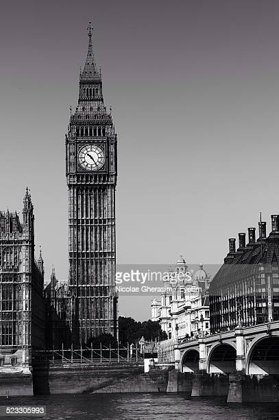 United Kingdom, England, London, View Of Big Ben