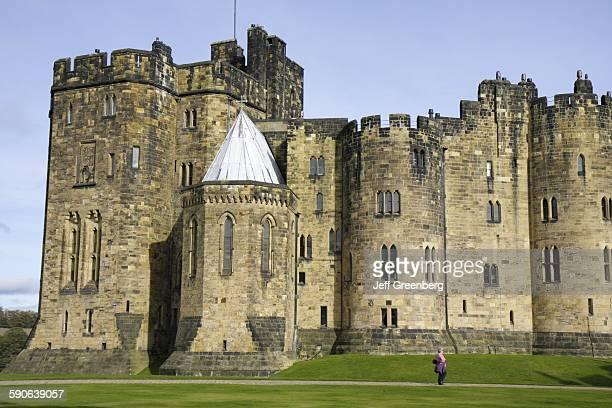 United Kingdom England Northumberland Alnwick Alnwick Castle Harry Potter Movie Site