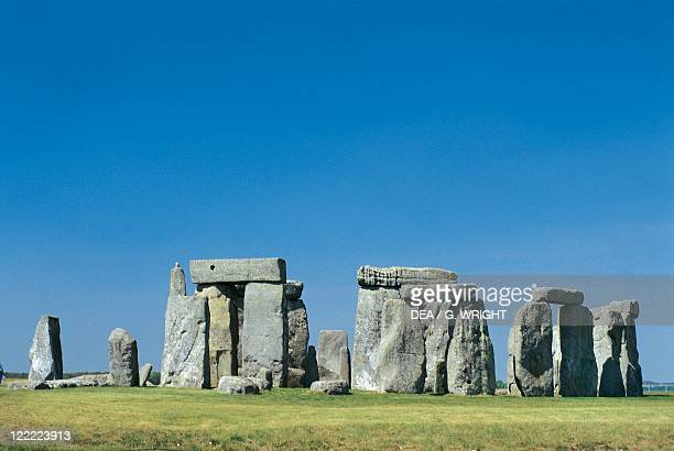 United Kingdom England Wiltshire County Megalithic monument of Stonehenge Neolithic and Bronze Age 3rd2nd millennium bC