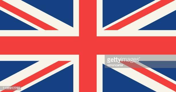 united kingdom flag the union jack. - british flag stock pictures, royalty-free photos & images