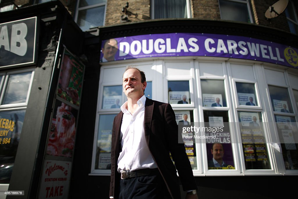 Ukip And Conservative Candidates Prepare For By-Election In Clacton-On-Sea