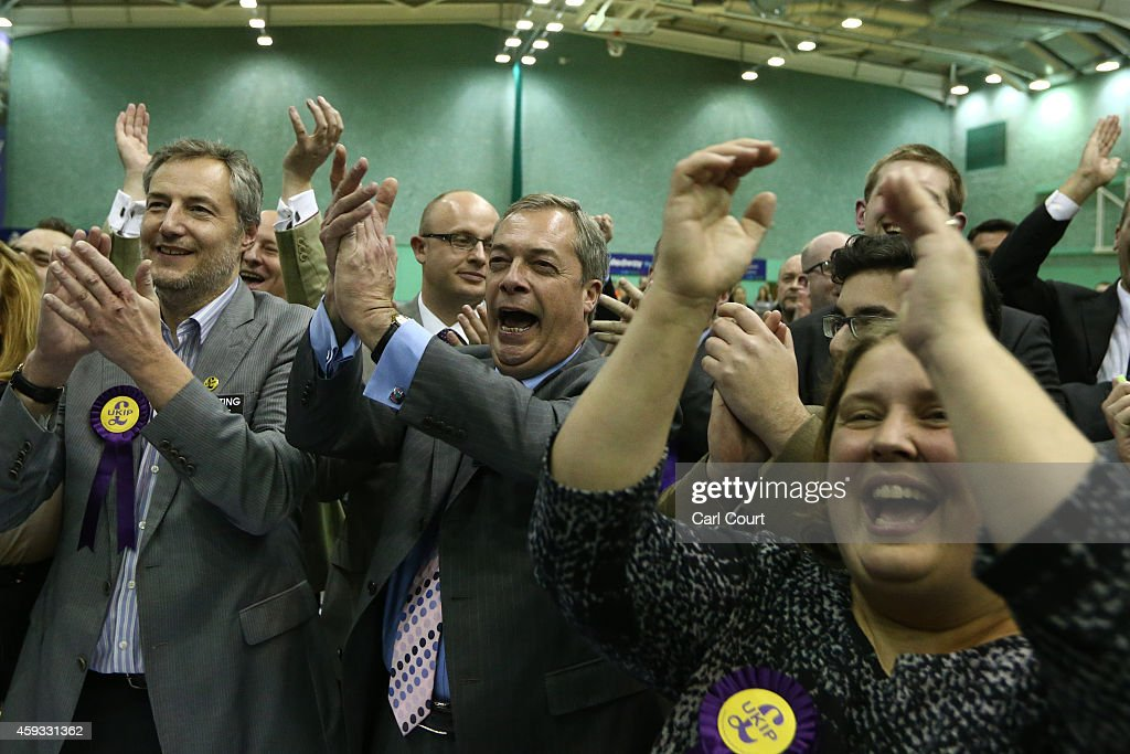 Rochester and Strood Parliamentary By-Election : News Photo