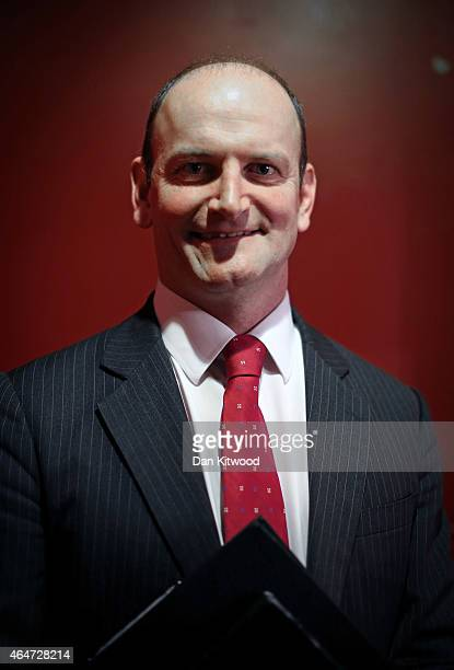 United Kingdom Independence Party member Douglas Carswell poses for a picture after speaking at the party's conference on February 28 2015 in Margate...