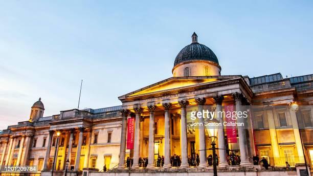 united kingdom, london, the national portrait gallery - national portrait gallery london stock pictures, royalty-free photos & images