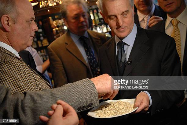 Member of the British Royal Society of Chemistry Brian Emsley challenges Christmas drinkers and diners to identify a plate of myrrh in a pub in...