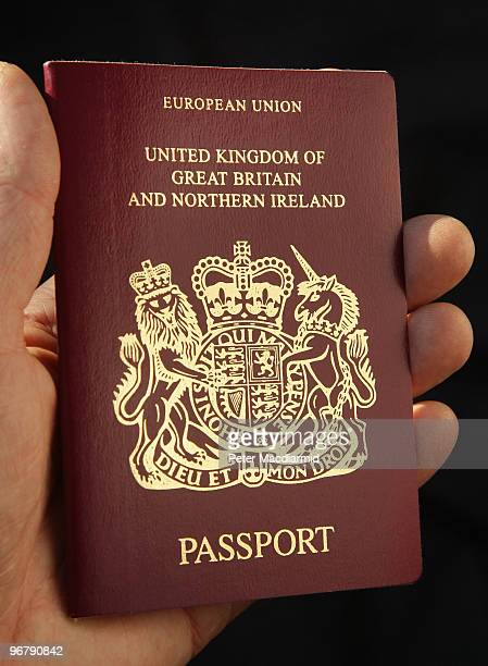 United Kingdom passport on February 17 2010 in London England As the UK gears up for one of the most hotly contested general elections in recent...