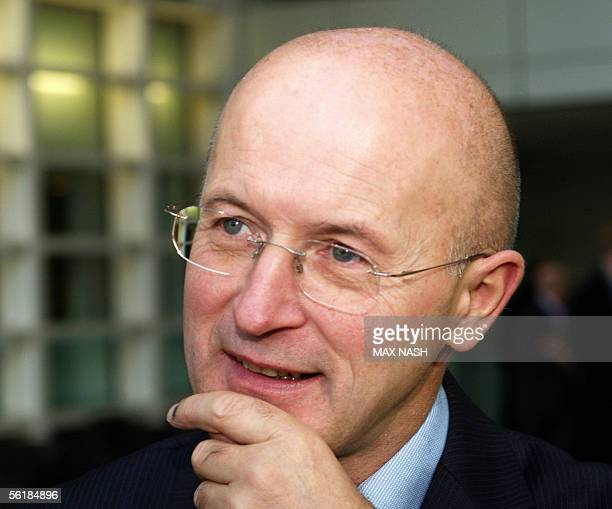 Philip Hampton the Chairman of the British supermarket chain Sainsbury's poses for photographs during a photocall in London 16 November 2005...