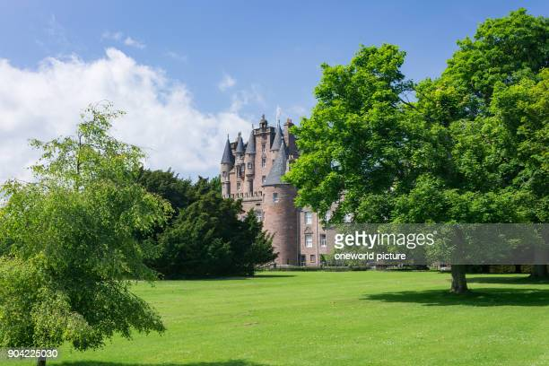 United Kingdom Scotland Angus Glamis Glamis Castle from the Garden Glamis Castle Castle Shakespeare Macbeth