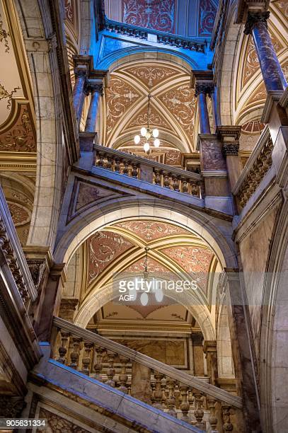 United Kingdom Scotland Glasgow The Interior of City Chambers Building In George Square