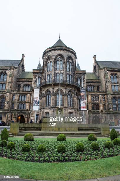 United Kingdom. Scotland. Glasgow. West End. University of Glasgow.