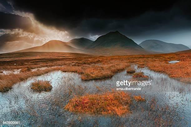 United Kingdom, Scotland, Glencoe valley