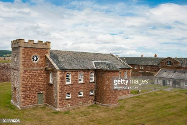 United Kingdom Scotland Highland Inverness Moray Firth Walk through Fort George The fortress dates from the 18th century and is located northeast of...