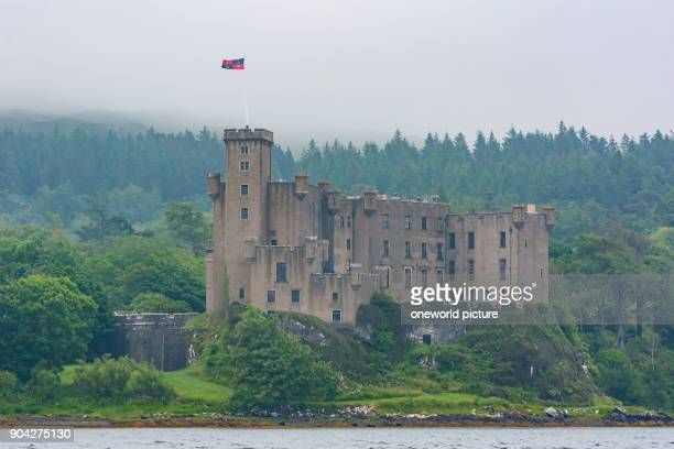 United Kingdom Scotland Highland Isle of Skye Dunvegan Castle Dunvegan Castle is the seat of the Scottish clan of MacLeods The castle is located in...