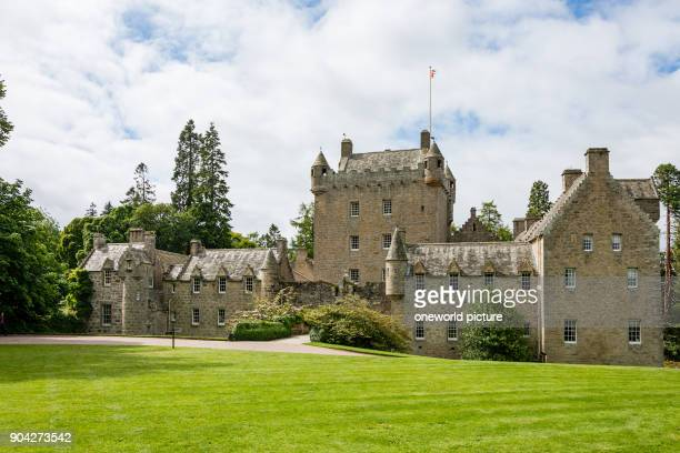 United Kingdom Scotland Highland Nairn Cawdor Castle view from the garden Cawdor Castle is a castle a few miles northeast of Inverness in the...