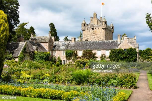 United Kingdom Scotland Highland Nairn gardens of Cawdor Castle Cawdor Castle is a castle a few kilometers northeast of Inverness in the Scottish...