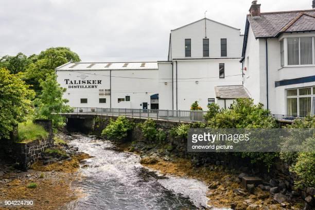 United Kingdom Scotland Highlands Isle of Skye Carbost Talisker Distillery