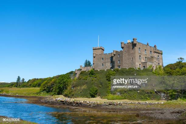 United Kingdom Scotland Highlands Isle of Skye Dunvegan Castle is the tribal seat of the Scottish clan of the MacLeods The castle is located in the...