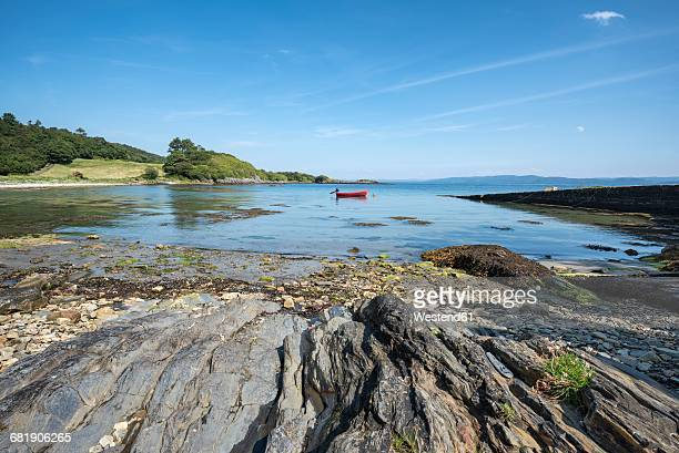 United Kingdom, Scotland, Inner Hebrides, Isle of Jura, bay near Ardlussa