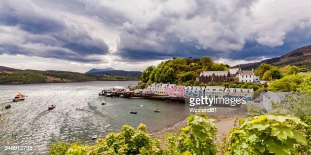 United Kingdom, Scotland, Isle of Skye, Portree, harbor
