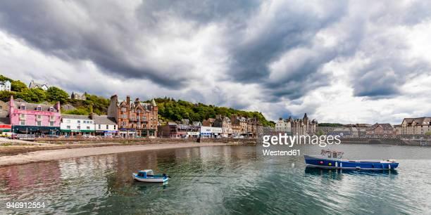 United Kingdom, Scotland, Oban, cityscape