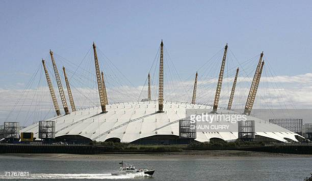 "United Kingdom: The Millennium Dome in south-east London is pictured 01 September 2006. Candidates bidding to set up Britain's first US-style ""super..."