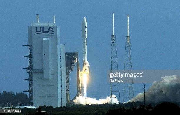 A United Launch Alliance Atlas V rocket carrying the X37B Orbital Test Vehicle launches from pad 41 at Cape Canaveral Air Force Station on May 17...