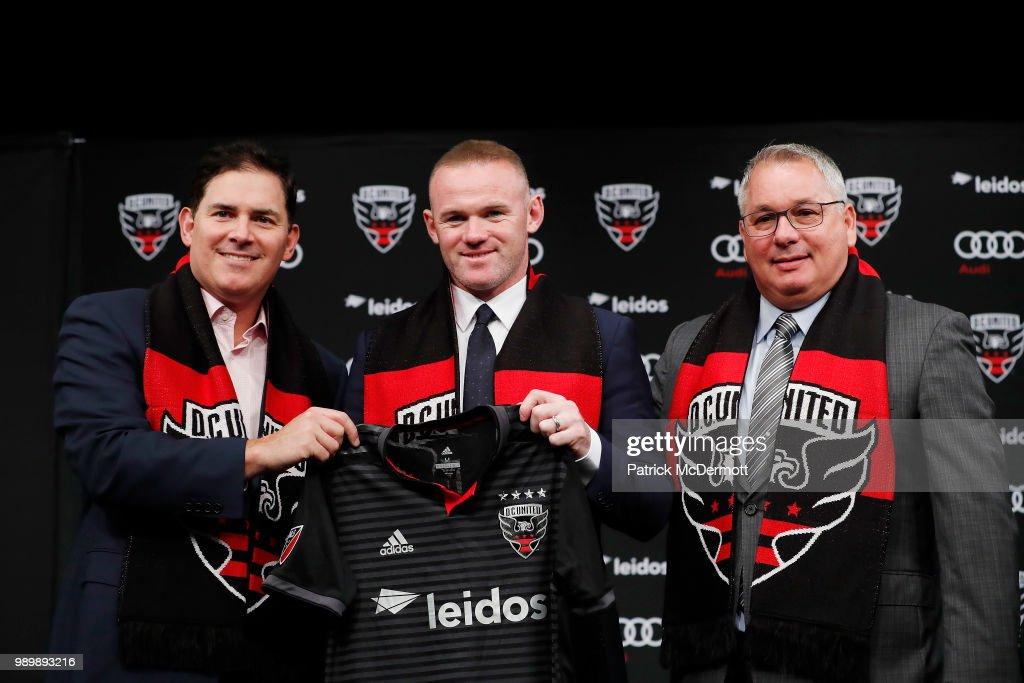 DC United Introduce Wayne Rooney : News Photo