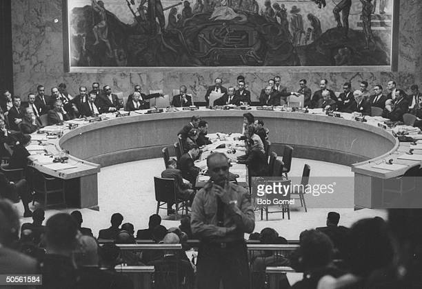United Nation security council meeting re Eichmann case involving Argentina and Israel