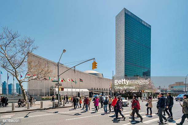 United Nations building, New York, USA