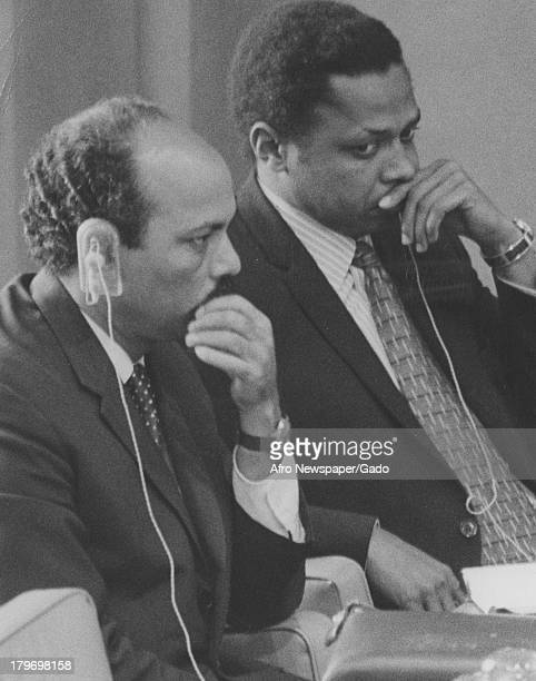 United Nations committee on Non Self Governing Territories, New York, New York, October 9, 1972.
