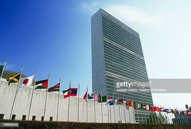 united nations headquarters - united nations building stock pictures, royalty-free photos & images