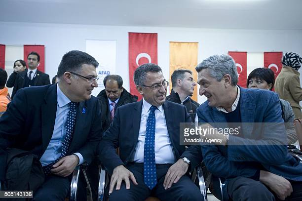 United Nations High Commissioner for Refugees Filippo Grandi visits Turkish Prime Ministry Disaster Emergency Management Authority's refugee camp in...