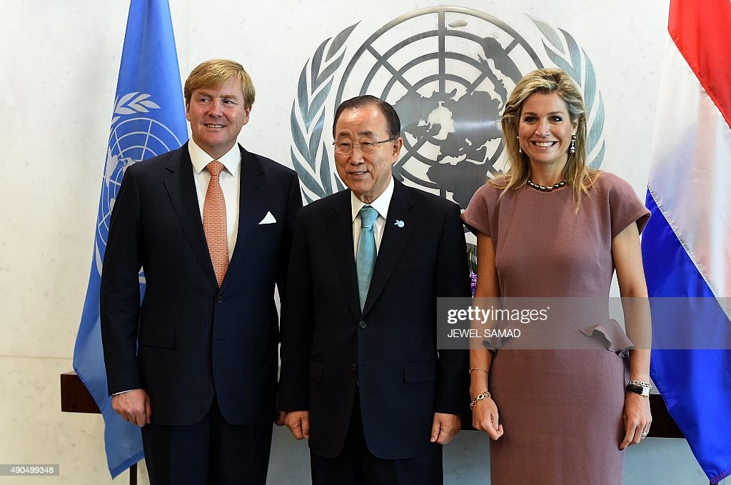 UN-GENERAL ASSEMBLY-BAN-WILLEM : News Photo